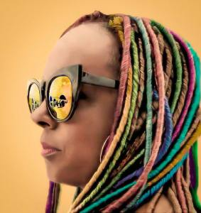 colorful dreadlocks